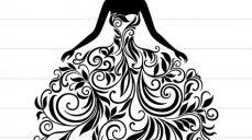 وکتور لباس زنانه
